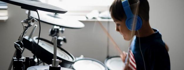 Clases de batería para niños online